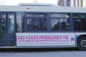 Autobus Athée montréalais - ligne 51 à Snowdon
