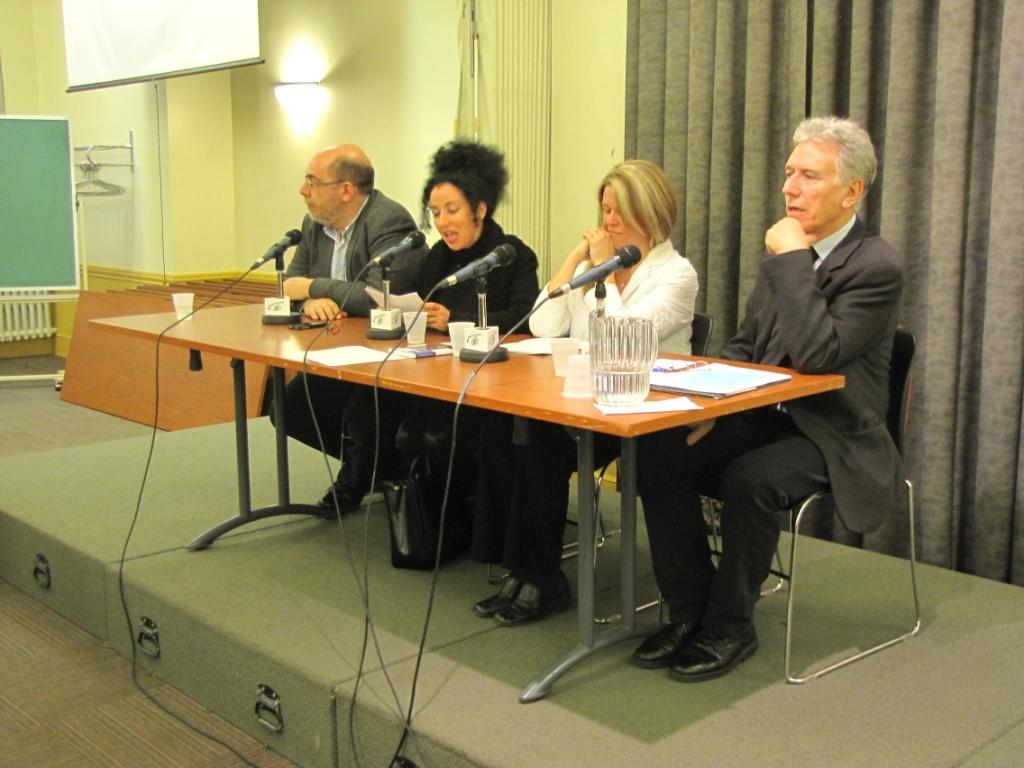 Transcription du débat organisé par la Coalition laïcité Québec, Quel modèle de laïcité pour le Québec ? Henri Pena-Ruiz, Caroline Beauchamp et Daniel Weinstock Jeudi 26 avril 2012
