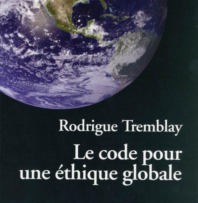 Le code pour une éthique globale – le vidéo de la conférence