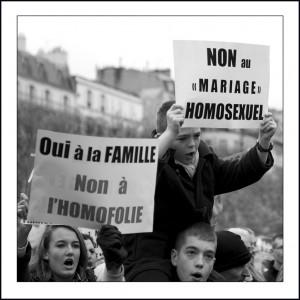 Non au mariage Gay