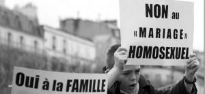 La toxicité de la religion; des intégristes français contre le mariage gay