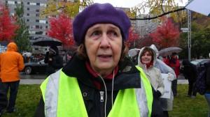 Michèle Sirois - Organisatrice du Rassemblement pour la Laïcité