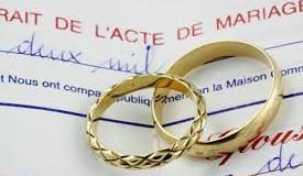 Le mariage chez les athées du Québec