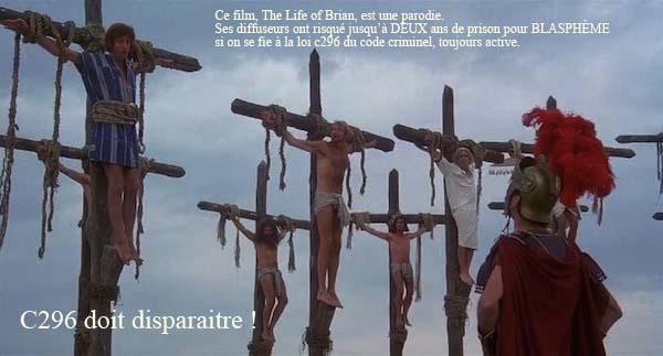 La loi sur le blasphème (C-296) doit disparaitre
