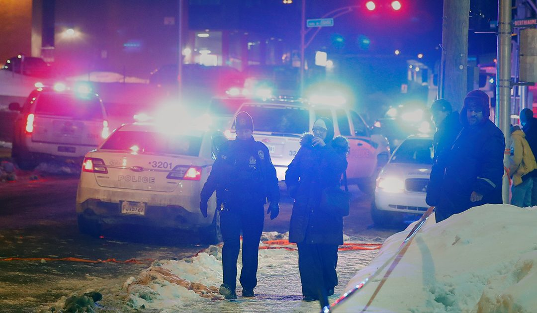 Attentat à la mosquée de Québec (image - Facebook)