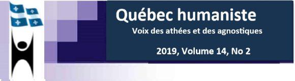 Le tout dernier numéro du Québec humaniste