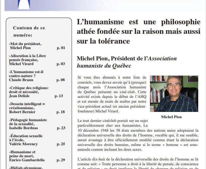 Le militantisme de type «libre-penseur» au Québec