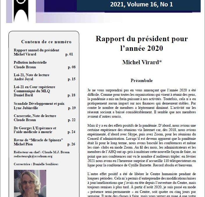 Les enjeux d'un Québec laïque La loi 21 en perspective*